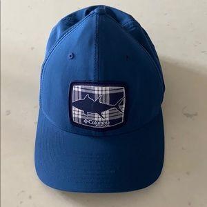 Columbia PFG flexfit unisex blue ball cap